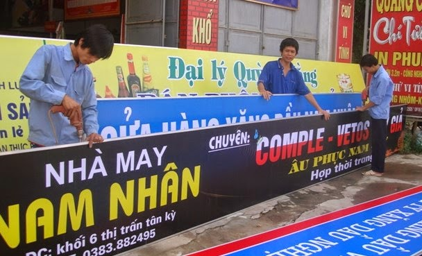Bang hieu nha may Nam Nhan