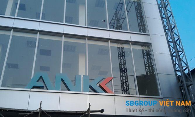 ốp mặt dựng alu cho ngân hàng